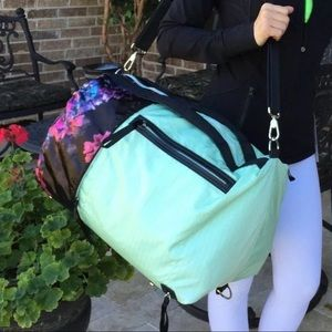 RARE Lululemon Do It Up Duffel Flaw*